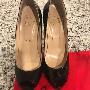 Christian Louboutin Shoes - Christian Louboutin Open Toe Heels